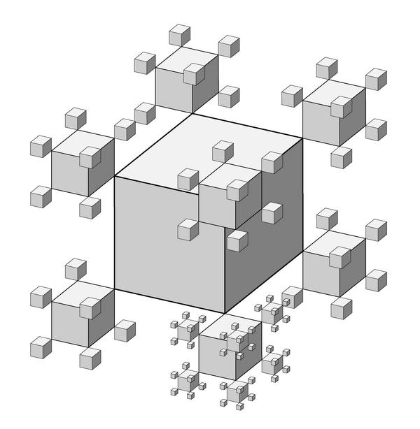 4. ábra. Saxon: Polidemenzionális tér (2000); számítógépes animáció